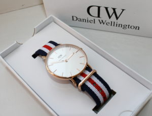Daniel Wellington replica watch box