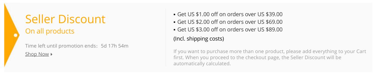 Get aliexpress discount