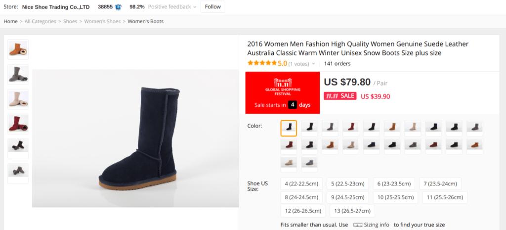fake ugg boots aliexpress