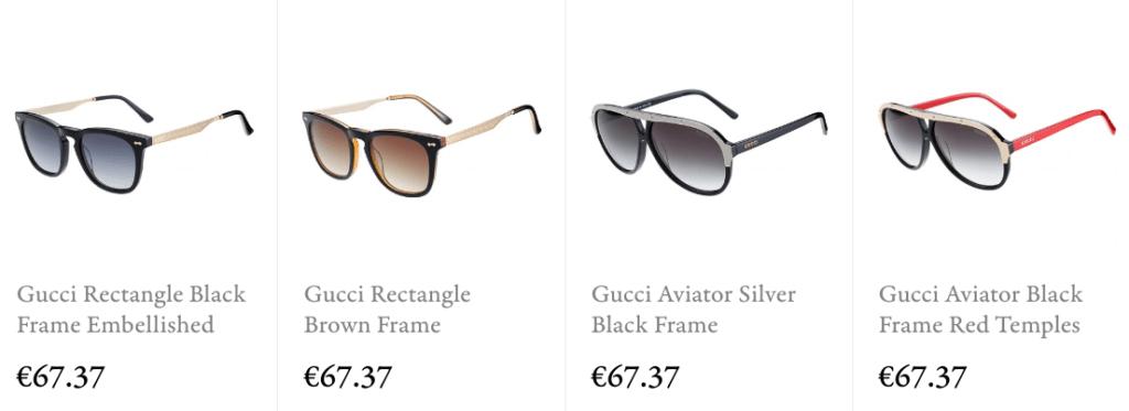 Buy gucci replica sunglasses online